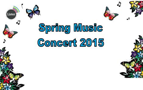 spring concert website
